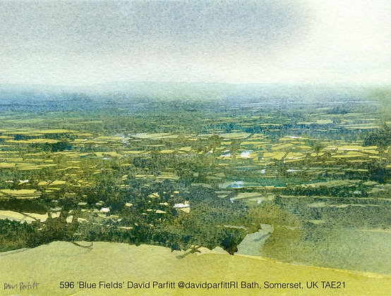 596 'Blue Fields' David Parfitt @davidparfittRI Bath, Somerset, UK TAE21