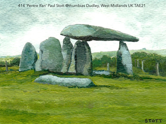 414 'Pentre Ifan' Paul Stott @thumbias Dudley, West Midlands UK TAE21