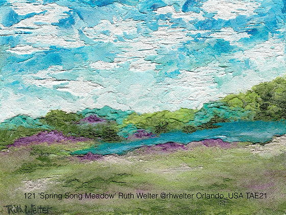121 'Spring Song Meadow' Ruth Welter @rhwelter Orlando, USA TAE21