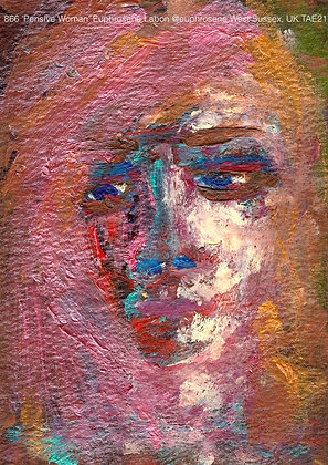 866 'Pensive Woman' Euphrosene Labon @euphrosene  West Sussex, UK TAE21