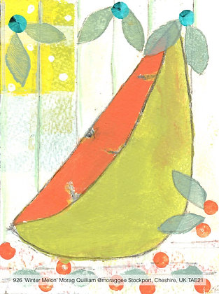 926 'Winter Melon' Morag Quilliam @moraggee Stockport, Cheshire, UK TAE21