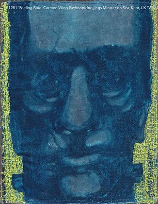 1281 'Feeling Blue' Carmen Wing @whoopidoo_ings Minster on Sea, Kent, UK TAE21