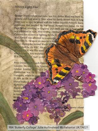 984 'Butterfly Collage' Julie Hollinshead @juliehartist Milton Keynes, UK TAE21