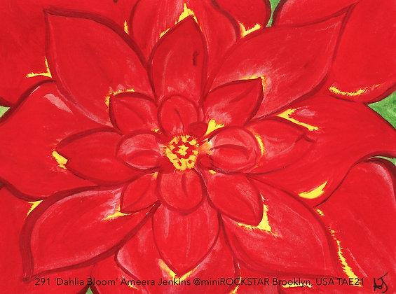 291 'Dahlia Bloom' Ameera Jenkins @miniROCKSTAR Brooklyn, USA TAE21