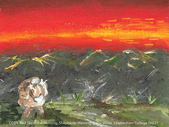 CC09 'Red Sky in the Morning, Shepherds Warning' Daisy White, Cheltenham College