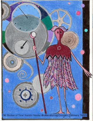 796 'Birdian of Time' Kerstin Nestler @rabensturmig Dresden, Germany TAE21