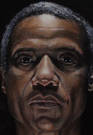 Portrait on Hugh Quarshi (BP Portrait short listed 2017) SOLD