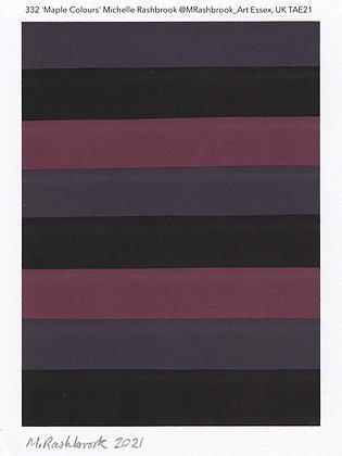 332 'Maple Colours' Michelle Rashbrook @MRashbrook_Art Essex, TAE21