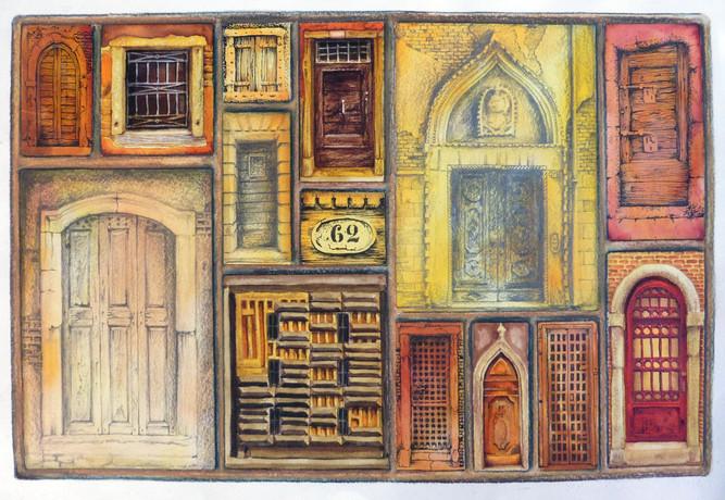 Venice Doorways 2 (©Lesley Brockbank)