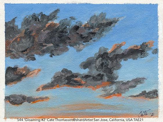 544 'Gloaming #2' Cate Thomassen@shardArtist San Jose, California, USA TAE21