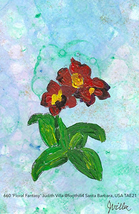 660 'Floral Fantasy' Judith Villa @foothill4 Santa Barbara, USA TAE21