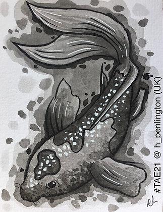 91 'Inky Fish' Hannah Penlington @h_penlington Southampton, UK