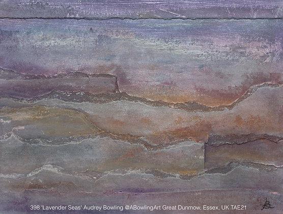 398 'Lavender Seas' Audrey Bowling @ABowlingArt  Essex, UK TAE21
