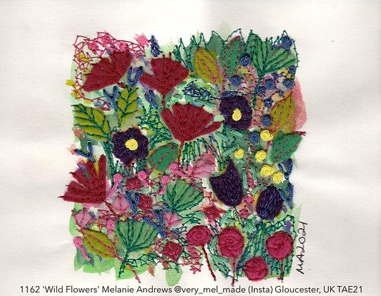 1162 'Wild Flowers' Melanie Andrews @very_mel_made (Insta) Gloucester, UK TAE21