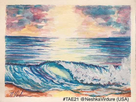 73 'Seashore Paradise' Neshka Virdure @Neshkavidure Sacramento, USA