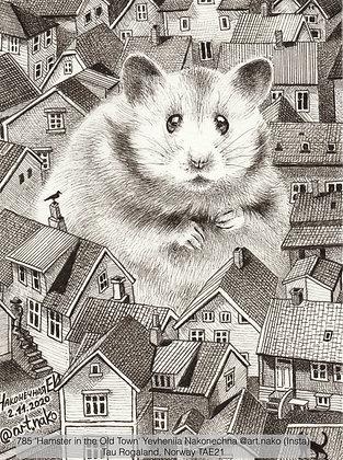 785 'Hamster in the Old Town' Yevheniia Nakonechna @art.nako (Insta) Norway