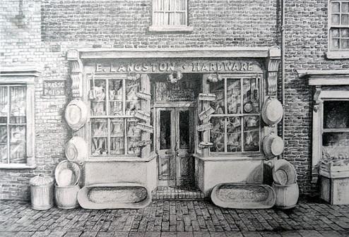 Black Country Museum Hardware Shop (©Lesley Brockbank)