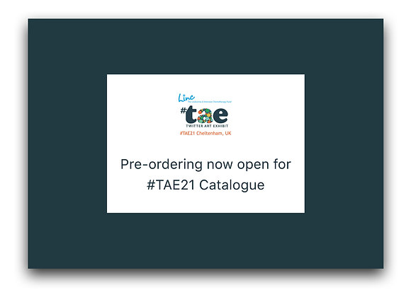 TAE21 Catalogue PRE-ORDERING