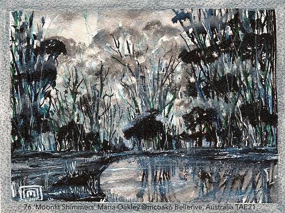 76 'Moonlit Shimmers' Maria Oakley @mcoak6 Bellerive, Australia TAE21