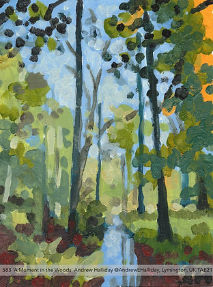 583 'A Moment in the Woods' Andrew Halliday @AndrewEHalliday, UK TAE21