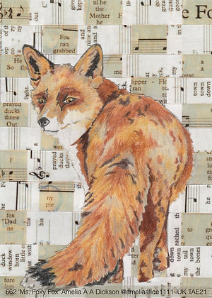 662 'Ms. Foxy Fox' Amelia A A Dickson @ameliaalice1111 Wolverhampton, UK TAE21