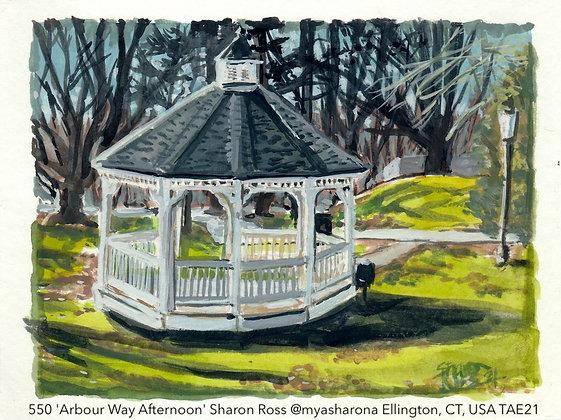 550 'Arbour Way Afternoon' Sharon Ross @myasharona Ellington, CT, USA TAE21