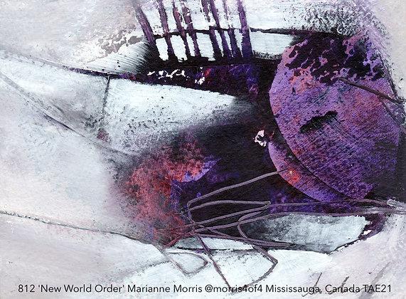 812 'New World Order' Marianne Morris @morris4of4 Mississauga, Canada TAE21