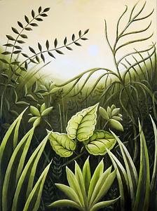 Lesley Brockbank painting