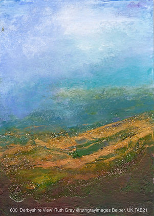600 'Derbyshire View' Ruth Gray @ruthgrayimages Belper, UK TAE21