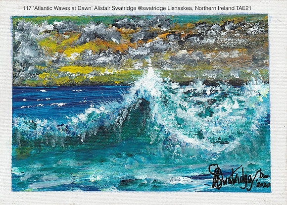 117 'Atlantic Waves at Dawn' Alistair Swatridge @swatridge  Northern Ireland