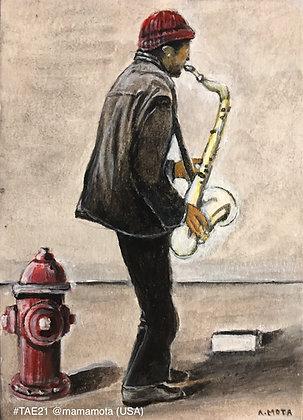 241 'Street Musician' Anibal Mota, @MamaMota, South Carolina, US