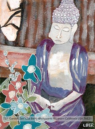 727 'Garden Zen' Lisa Berry @feltypants Northern California USA TAE21