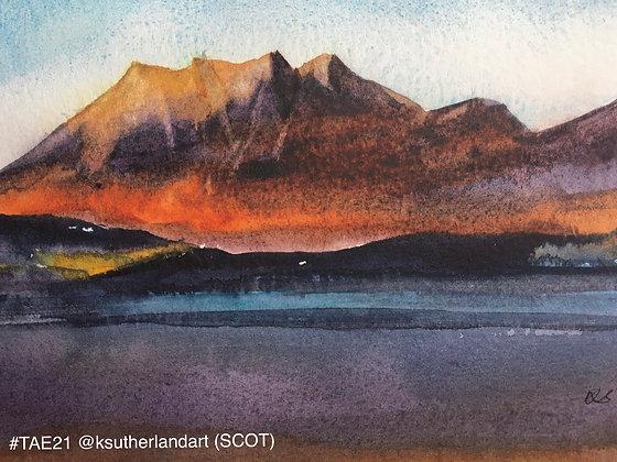 246 'Slioch & Loch Maree' Katherine Sutherland @ksutherlandart, Alness, Scotland