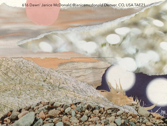 616 Dawn' Janice McDonald @janicemcdonald Denver, CO, USA TAE21