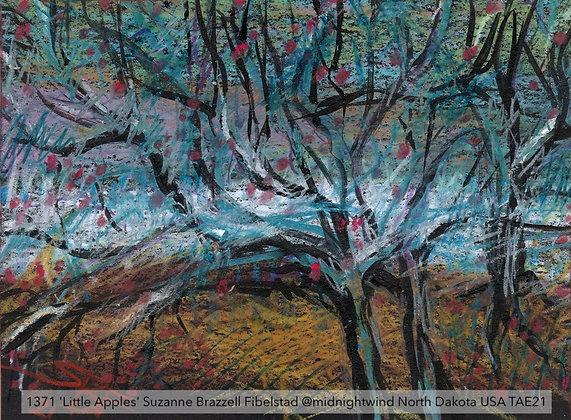 1371 'Little Apples' Suzanne Brazzell Fibelstad @midnightwind USA TAE21