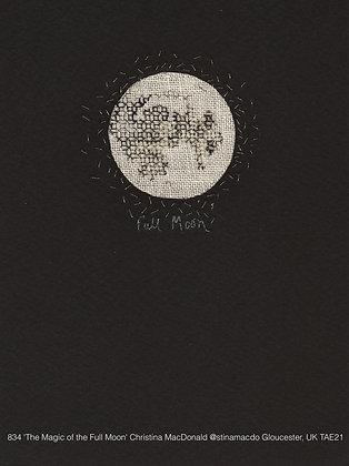 834 'The Magic of the Full Moon' Christina MacDonald @stinamacdo Gloucester, UK