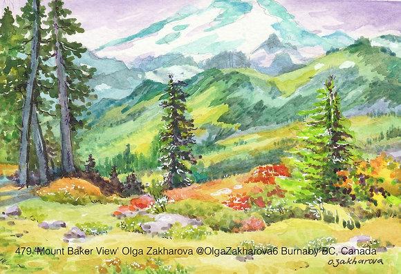 479 'Mount Baker View' Olga Zakharova @OlgaZakharova6, Canada