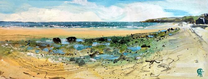 Bamburgh Beach, Northumberland
