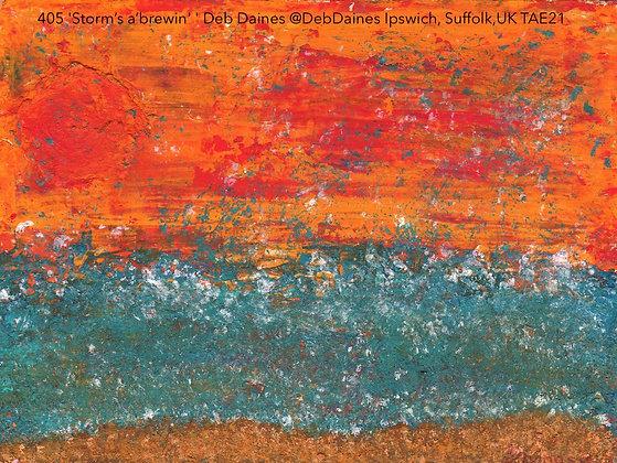 405 'Storms A' Brewin' ' Deb Daines @boogieG1rl Ipswich, Suffolk,UK TAE21
