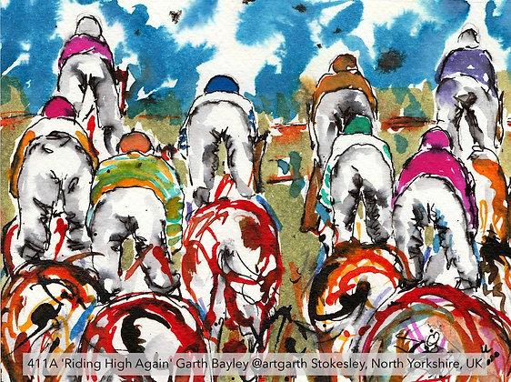 411A 'Riding High Again' Garth Bayley @artgarth Stokesley, North Yorkshire, UK