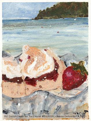 252 'Cornish Cream Tea' Tracy Hunter @THUNTER_x Ilkeston Derbyshire, UK TAE21