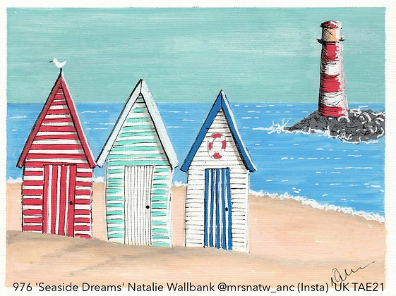 976 'Seaside Dreams' Natalie Wallbank @mrsnatw_anc (Insta) Dudley, UK TAE21