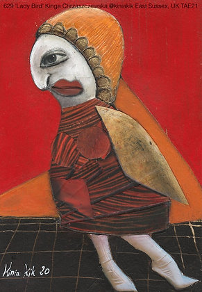 629 'Lady Bird' Kinga Chrzaszczewska @kiniakik Hailsham, East Sussex, UK TAE21