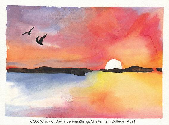 CC06 'Crack of Dawn' Serena Zhang, Cheltenham College TAE21