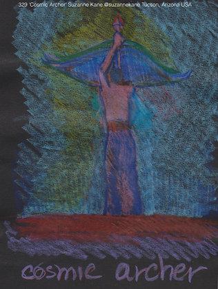 329 'Cosmic Archer' Suzanne Kane @suzannekane Tucson, Arizona USA TAE21
