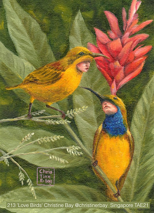 213 'Love Birds' Christine Bay @christinerbay Singapore, Singapore TAE21