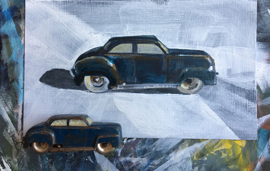 Little Blue Car TAE17 Stratford submission SOLD