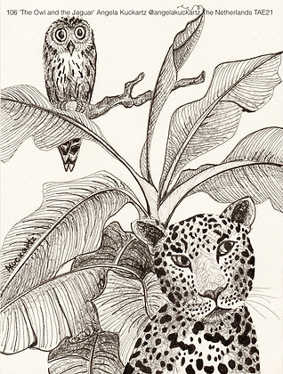 106 'The Owl and the Jaguar' Angela Kuckartz @angelakuckartz Netherlands