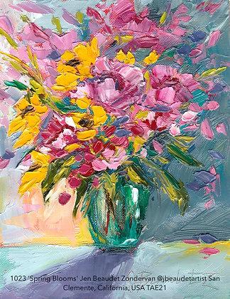 1023 'Spring Blooms' Jen Beaudet Zondervan @jbeaudetartist USA TAE21