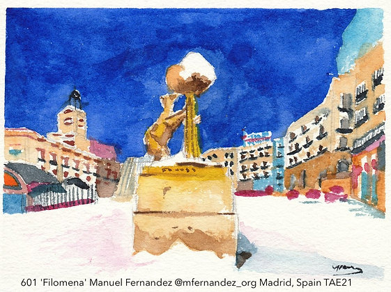 601 'Filomena' Manuel Fernandez @mfernandez_org Madrid, Spain TAE21